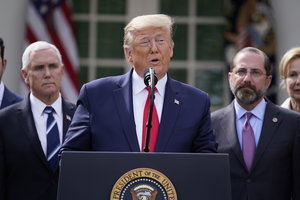 Trump declares national emergency, frees up $50B to fight virus